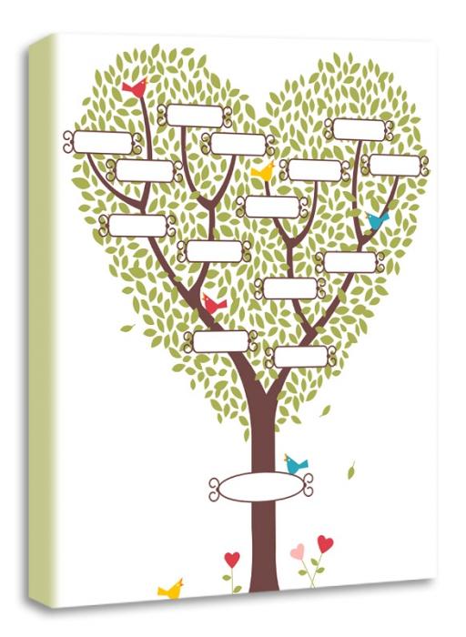 Семейное дерево нарисовать своими руками